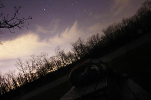 Seriously, bundle up and lie on a table in the middle of nowhere and look up at the stars once in a while. It's magic.